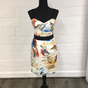 Milly Dresses - Milly Tropical Print Bustier Dress